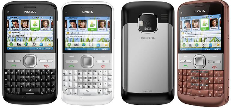 TECHZONE: Nokia E5 launched in india