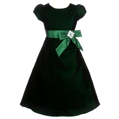 Green Christmas Dress Toddler hd pictures