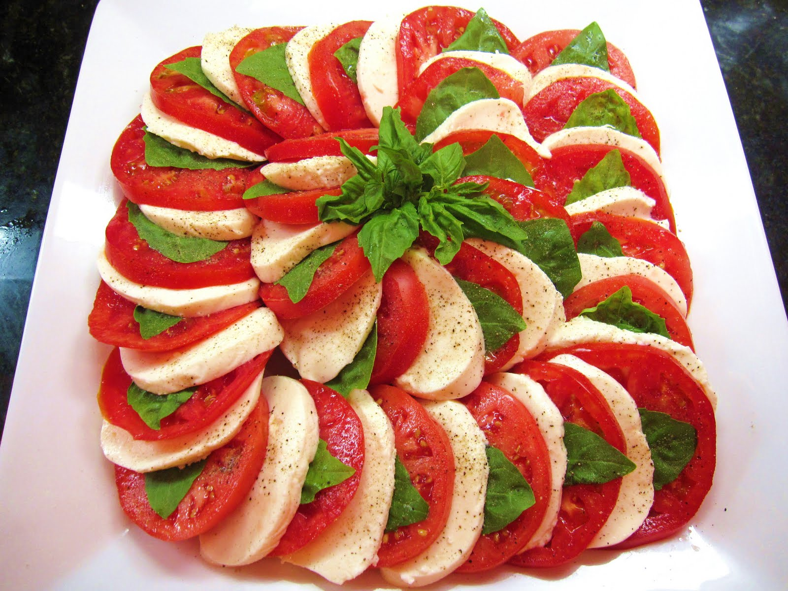 The Chef Next Door*: Embarassingly Easy Caprese Salad