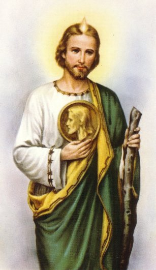 st judas St jude thaddeus was one of christ's apostles, this much is clear equally certain was that he was the brother of james and was present at pentecost following that, the apostle preached the gospel in judea, syria and libya he was martyred along with another apostle, st simon the zealot, and his.