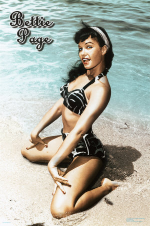 Bettie Page bangs can be really adorable when done right.