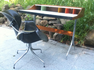 Vintage George Nelson Swag Leg Desk. Please Inquire