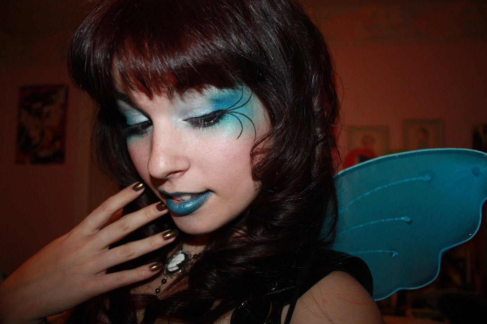 Annamax: Gothic Blue Fairy Halloween Look