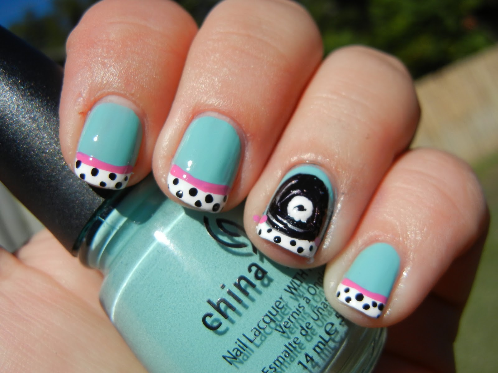 C\'s P\'s: Rock n\' Roll Nails