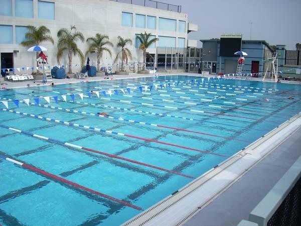 I Swam Long Course Tonight At Santa Monica College Southern California Aquatics Scaq Swim Club