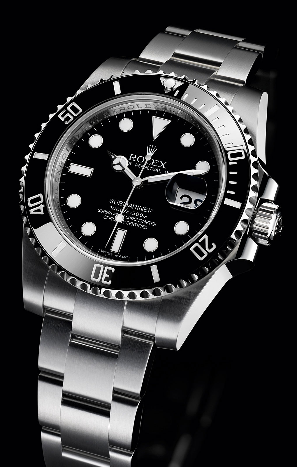 Rolex ceramic bezel submariner