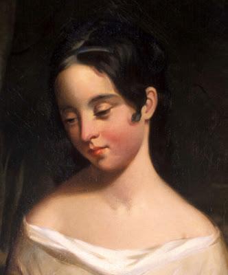 Retrato de Elizabeth Arnold Hopkins Poe, a mãe de Edgar Allan Poe
