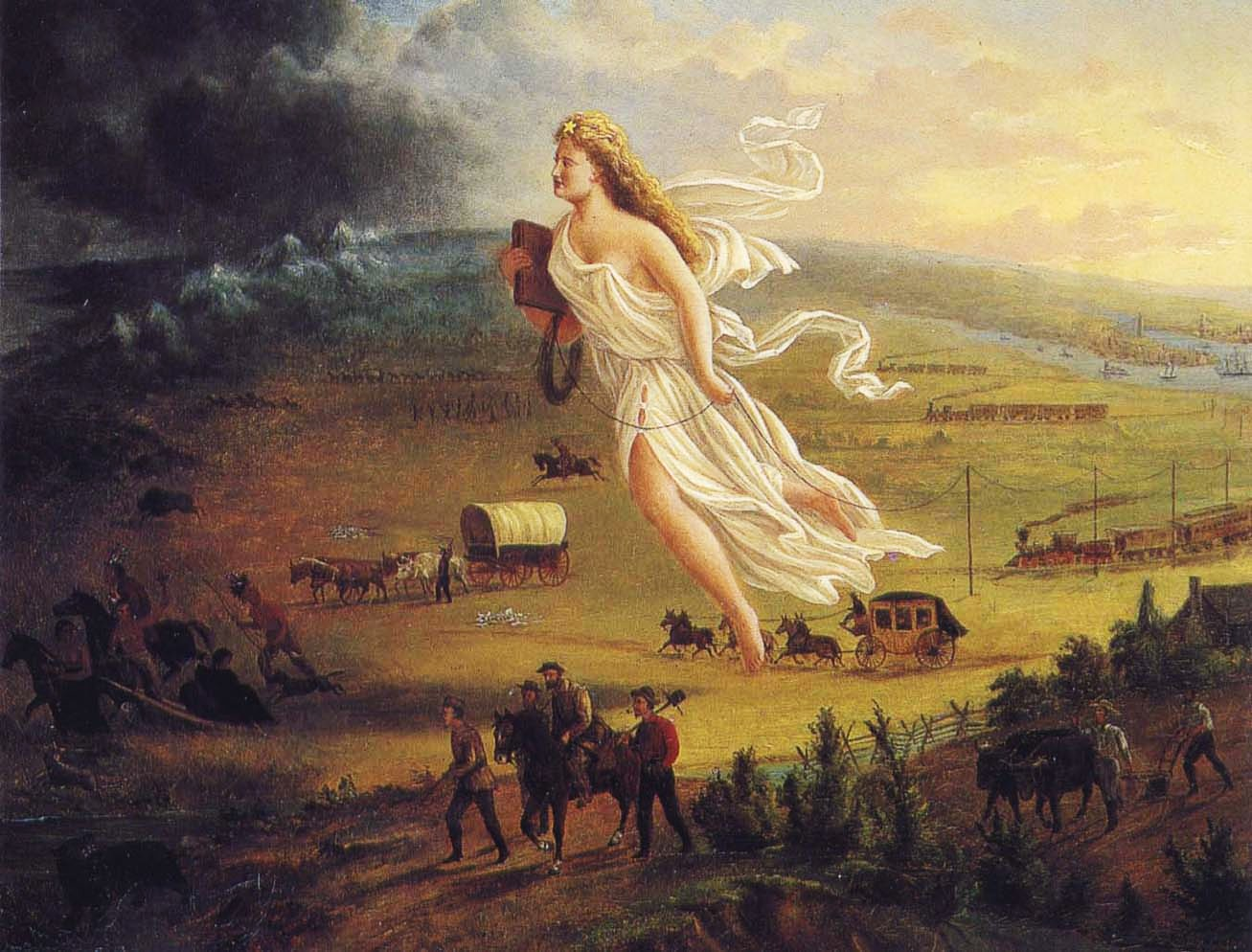 manifest destiny the effects of nineteenth Manifest destiny outline:  effects of the fur trade on american indians  women in the 19th century women in america, 1820-1842.