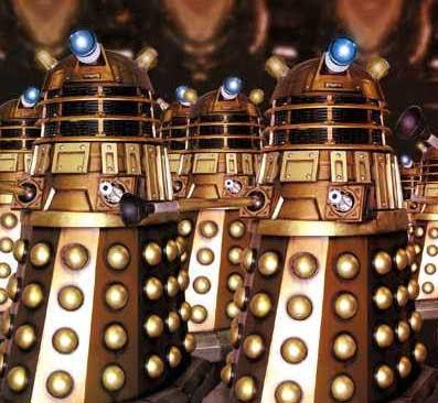 Galería de malos con pintas: Los mejores villanos de la historia del cine - Página 3 Daleks01