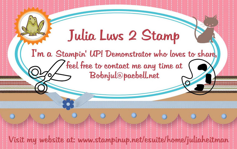 Julia Luvs 2 Stamp
