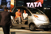 TATA Nano India Buzz Photo Family