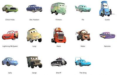Cars Sus Amigos