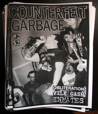 Counterfeit Garbage Zine issue #2