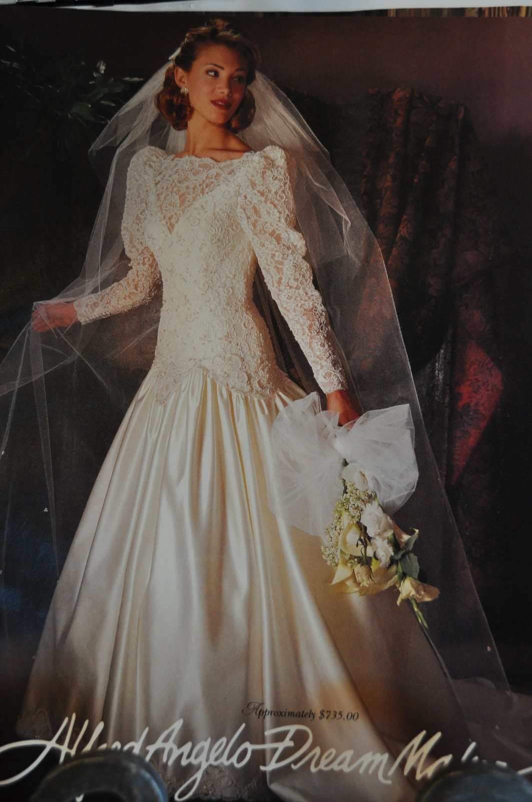 the further adventures of abby amp hayden 90s wedding dresses