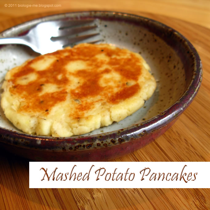 biologie.: Instant Mashed Potato Pancakes :: good!