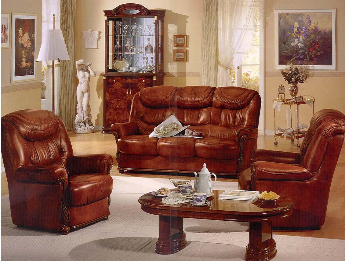 Western interior decorations classic western interior for Classic living room furniture