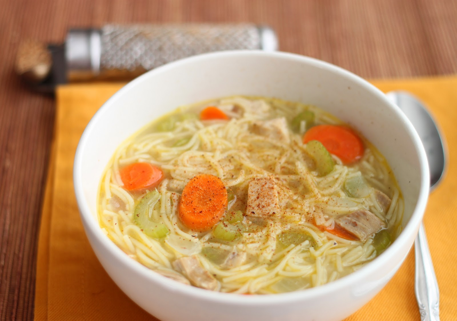 The Cilantropist: Turkey Noodle Soup, and Homemade Stock