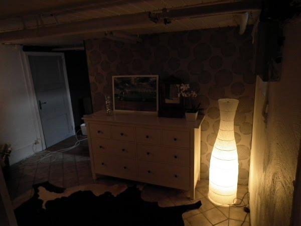 Leni - I alla väder: Sovrum/källare : sovrum källare : Sovrum
