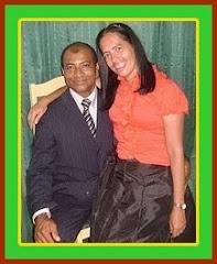 Pr. Arcanjo e esposa Marleide Costa