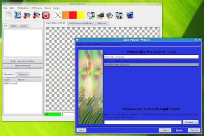 Crear DVDs en Linux con menús , videos , fotos , presntacio