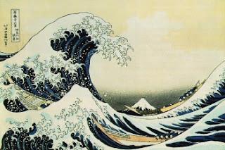 'Great Wave off of Kanagawa' by Katsushika Hokusai