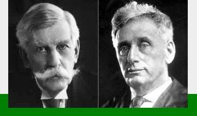 Supreme Court Justices Holmes and Brandeis