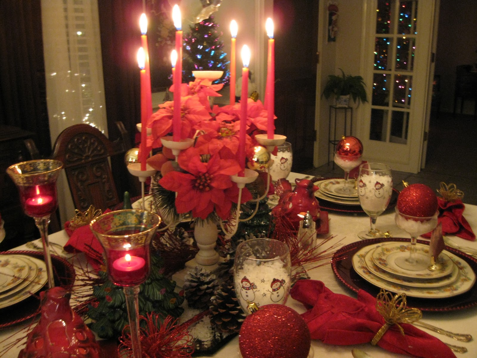 Tablescapes By Diane Christmas Eve Tablescapes
