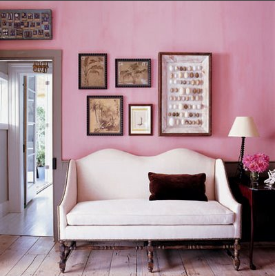 What I\'m Loving:Pink and Black Rooms - Elements of Style Blog