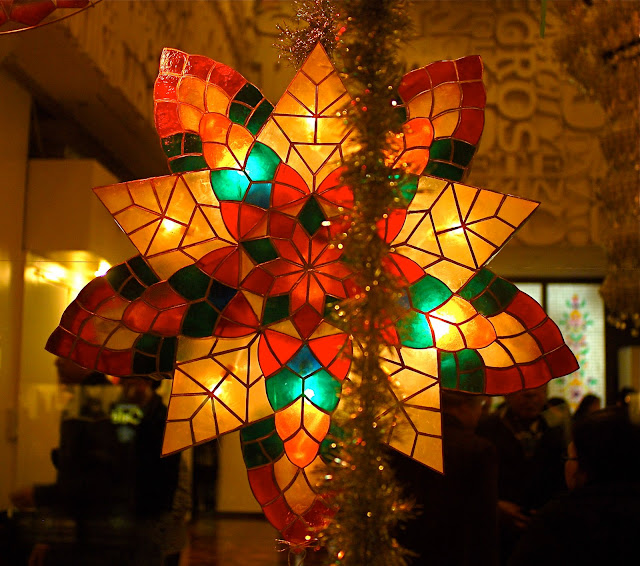 nyc nyc stars of hope on fifth capiz shell christmas lantern parol display at the philippine center