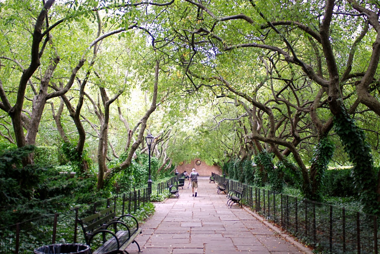 NYC NYC Conservatory Garden One Of Central Parks Secluded