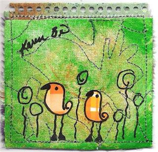 Doodle Bird - back