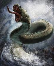Резултат с изображение за serpiente del mundo mitologia nordica