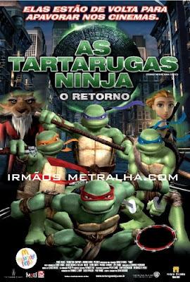 Baixar Filme As Tartarugas Ninja - O Retorno - Dublado