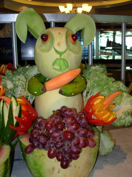 Fruit vegetable food art on pinterest watermelon
