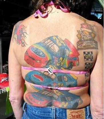 nascar tattoos