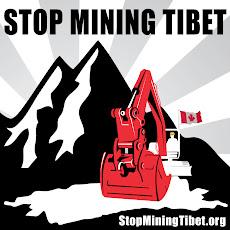 No a la mineria en el Tíbet