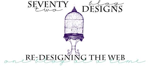 seventy-2 blog design