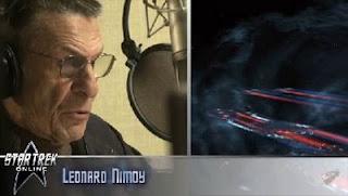 Leonard Nimoy el narrador del juego Star Trek Online