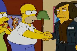 El actor Javier Bardem aparece en uno de los capítulos saludando a Homer y Marge