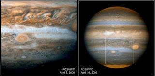 Misterios de la Gran Mancha Roja de Júpiter
