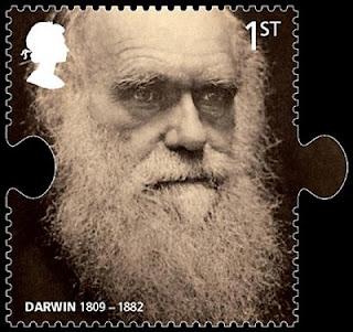 Sello conmemorativo de Darwin emitido en el Reino Unido. Reuters