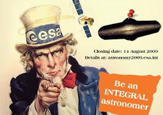 ESA: Sé un astrónomo INTEGRAL