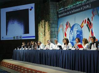 Reunión en México concluye con incertidumbre sobre gripe A. EFE
