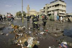 Una oleada de atentados sacude Irak ante la salida de EE UU