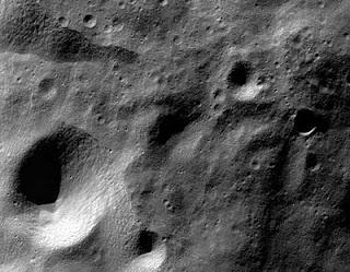 Imagen de la Luna tomada por la sonda Chandrayaan 1. ISRO