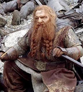 Las películas de El Hobbit pierden a Gimli