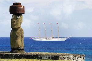 Nuevas pistas en el enigma de los moais con sombrero