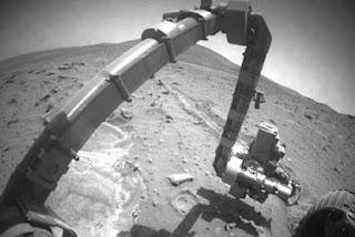 Spirit halla rastros de un pasado apto para la vida en Marte