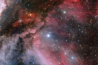 Nueva imagen de la estrella WR22 en la nebulosa Carina