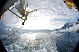 la cuarta reducción anual consecutiva de la superficie helada del océano Ártico
